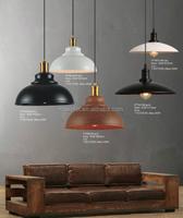 Modern interior energy saving retro iron pendant light shades for home lighting