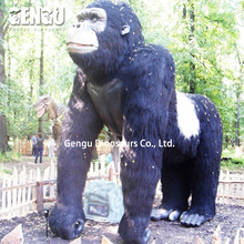 Lifesize simulation animal model for large garden sculptures