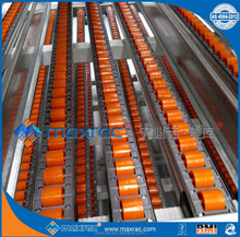 Labor time reduction warehouse stock order picking carton live storage rack