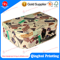 Package carry case cardboard carton paper box