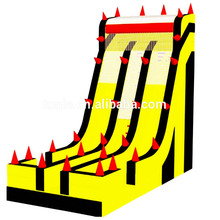 EXTREME FREE FALL giant Inflatable Slide For hire rental, Newest design cliff hanger inflatable slide for sale
