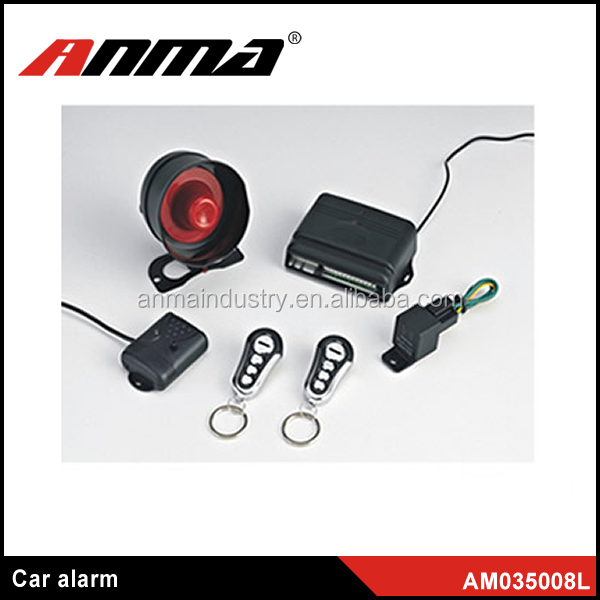 High quality one and two way car alarm/easy install car alarm