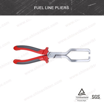 FUEL LINE CONNECTOR PLIERS * REMOVE AND REPLACE INLINE FUEL FILTER(VT01785)