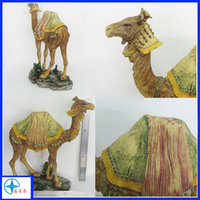 2016 hot sale resin animal figurine, camel figurine