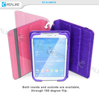 "both sides leather flip cover tablet case for xiaomi mipad,7.9"" inch case cover for miui mi pad xiaomi 7.9"" tablet"