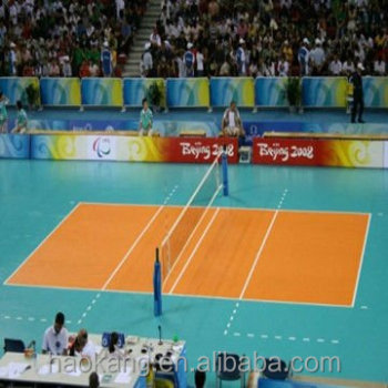 Handball/volleyball volleyball flooring mat