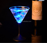 Customized Logo Printed Flashing LED Shot Glass/Cup