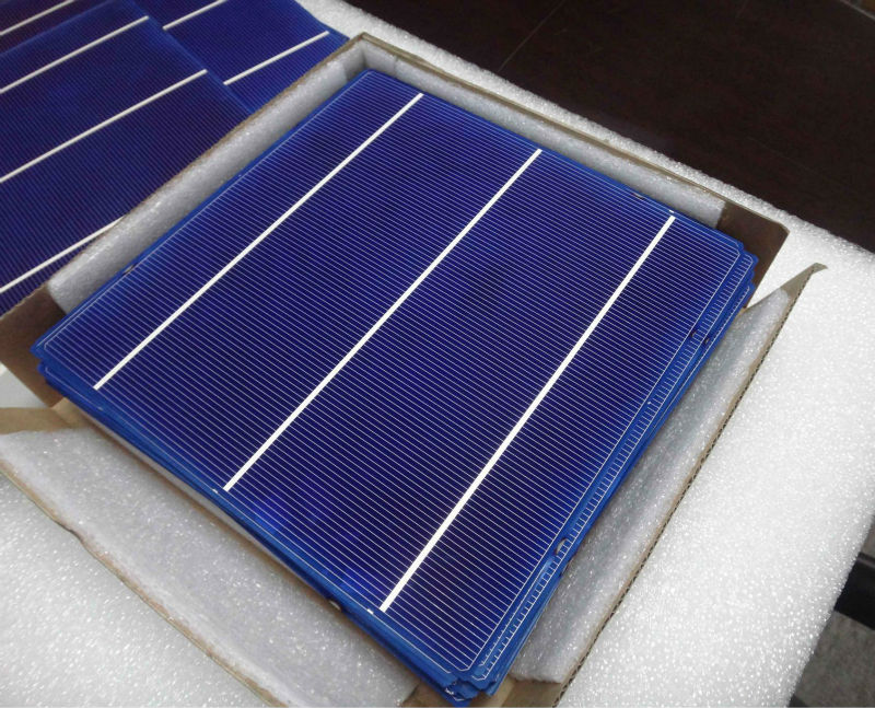wholesale eva film 3BB 4BB pv 6 inch poly solar cell with 156mm x 156mm