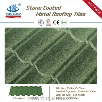 House construction material roof tiles manufacturer Stone coated metal roofing tile