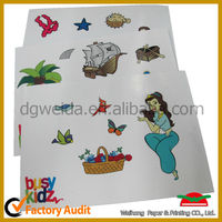 angel wall stickers printing for kids