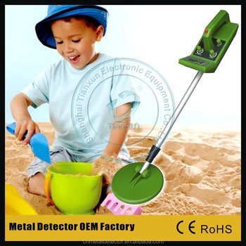 MD-3005 simple metal detector kids metal detector ground search metal detector