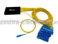 1*64 optical fiber Splitter for optical communication system