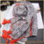 2017 hot sell promotional printed wholesale scarf lady scarf