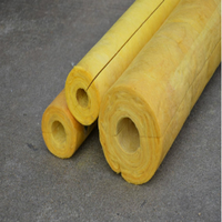 glasswool pipe cover/glass wool tube