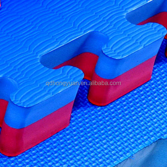 Taekwondo Martial Art Style eva foam interlocking floor mat