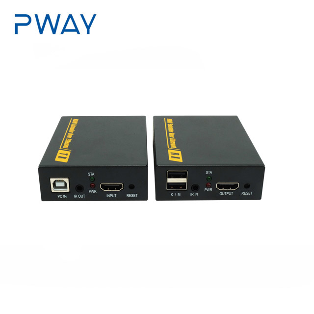 Pinwei PW-DT103KM 120M 1080P over TCP/IP USB and keyboard HDMI extender