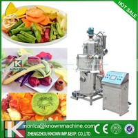 apple fruit and vegetable chips vacuum frying machine