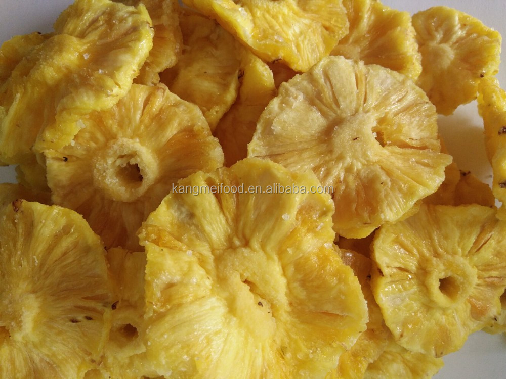 new crop and low price dried pineapple