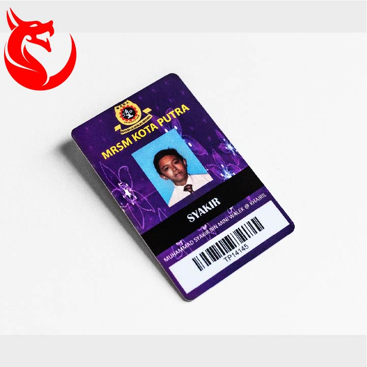 Factory supply photo employee pvc id card