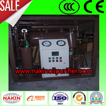 Vacuum transformer oil dehydrator