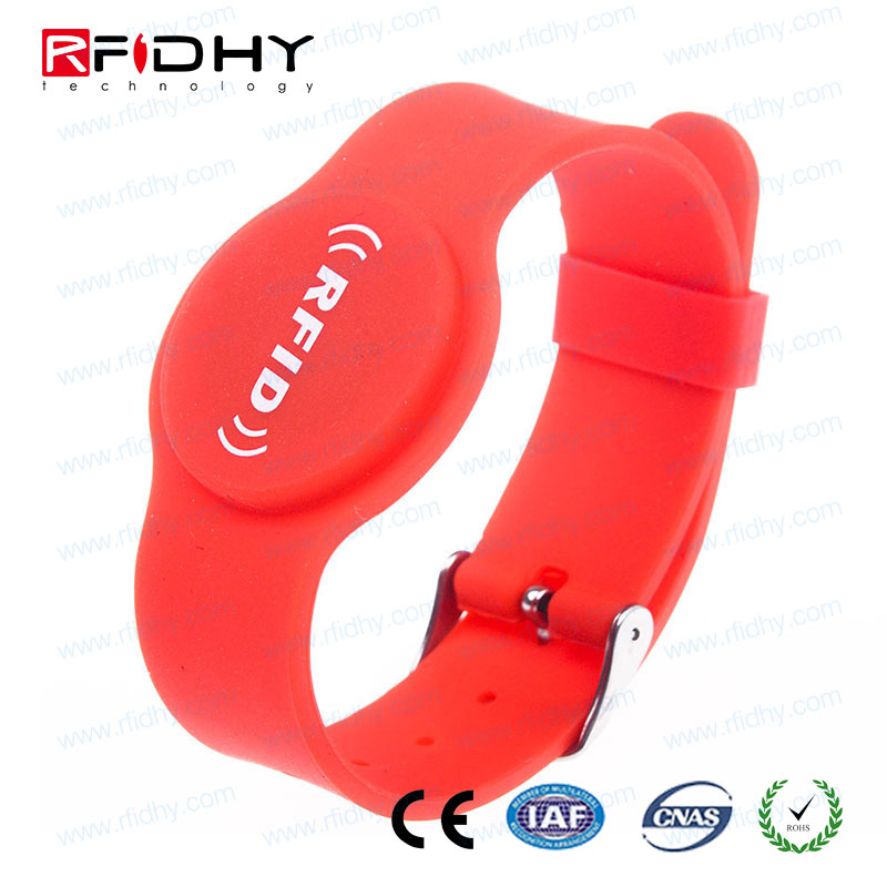 voice control colorful light hf led nfc wristbands