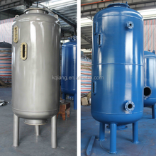 High flow rate sand cylinder oval shaped water filter for industrial water treatment