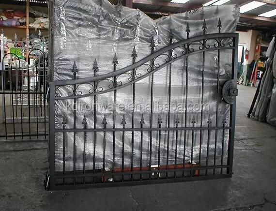 European Luxury Wrought Iron Gate Buy Wrought Iron Gate