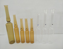 5ml 10ml amber ampoule glass vial for injection with factory price