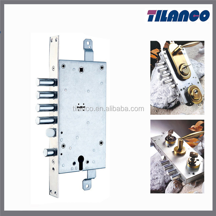 High Quality New Style 45Mm Backset Brass Deadbolt And Latch Mortise Door Lock Body