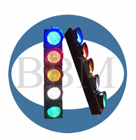 100mm mini plastic housing led traffic warning light