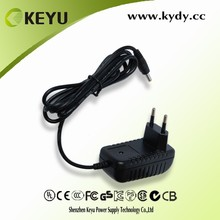 6v 2a max output power adpter for round cable lcd security monitor with CB CE GS KC PSE CCC SAA certification