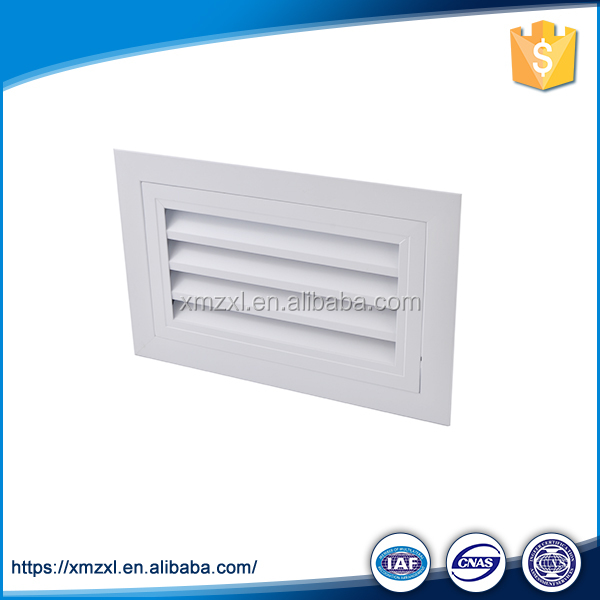 Best Sale HVAC Air Conditioning Cool Air Return Vents Single Fixed Grille