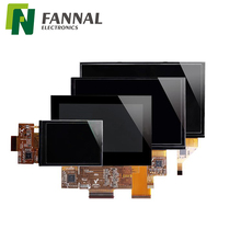 Capacitive type 2.8, 3.5, 4.3, 5.0, 5.7, 7.0, 8.0, 10.1, 10.2, 12.1 inch TFT LCD touch screen