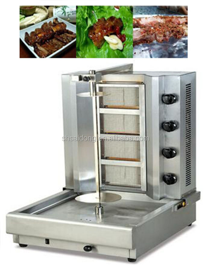 Gas Mini Doner Kebab Machine/shawarma Machine For Sale ...