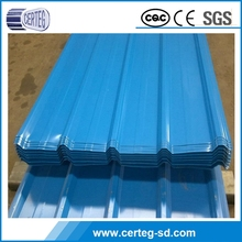 Hot Selling unique design corrugated metal roof sheet with Ral color