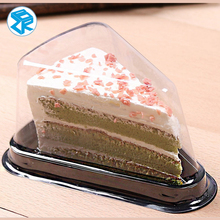 Disposable Plastic Sandwich Container Triangle Sandwich Plastic Packaging Box