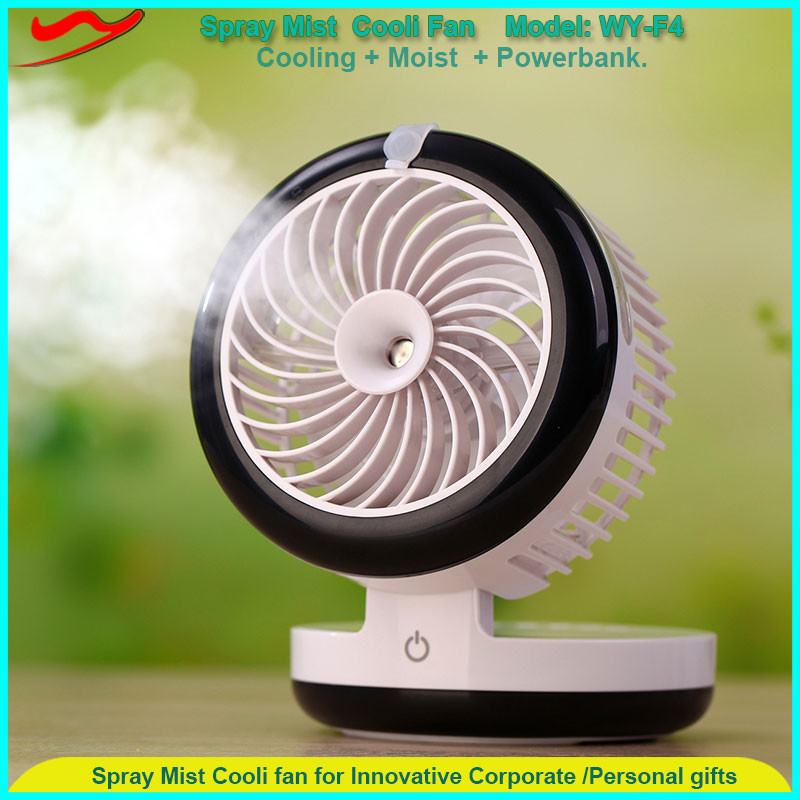 Wholesale innovative portable mist spray fan mini new items of goods in 2017