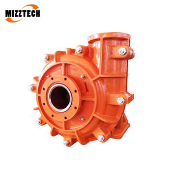 MIZZTECH high chrome alloy horizontal anti-abrasive slurry pump for mining goal
