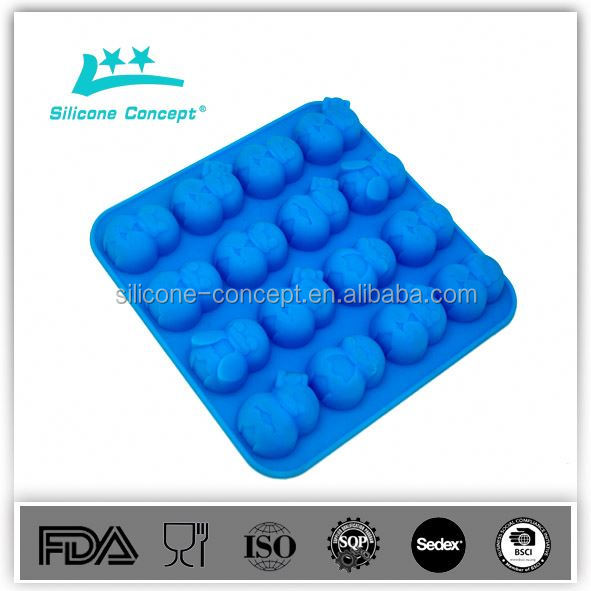 Food Grade Silicone Cone Shaped Cup Ice Mold
