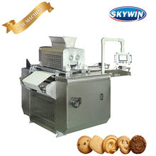 Model-800 Servo Control Wire-Cut&Deposit Biscuits Making Machine Cookie Production Line