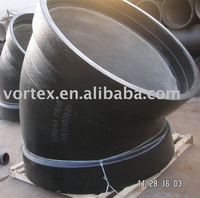 Ductile cast iron pipe fittings