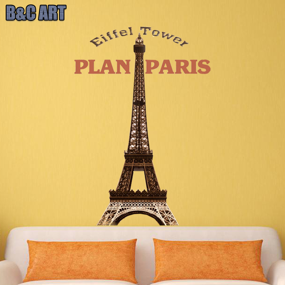 Enchanting Wall Art Eiffel Tower Crest - Wall Art Collections ...