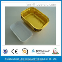 airline coated aluminum foil food container/airline models