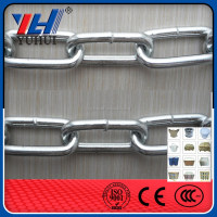 High Quality E. Galvanized Welded Link Chain 3/16