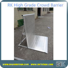 Factory portable aluminum crowd barrier for Event