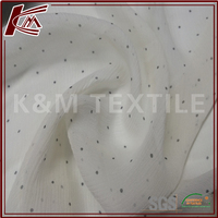 100% crepe de chine pure silk fabric types with pictures for silk night dress