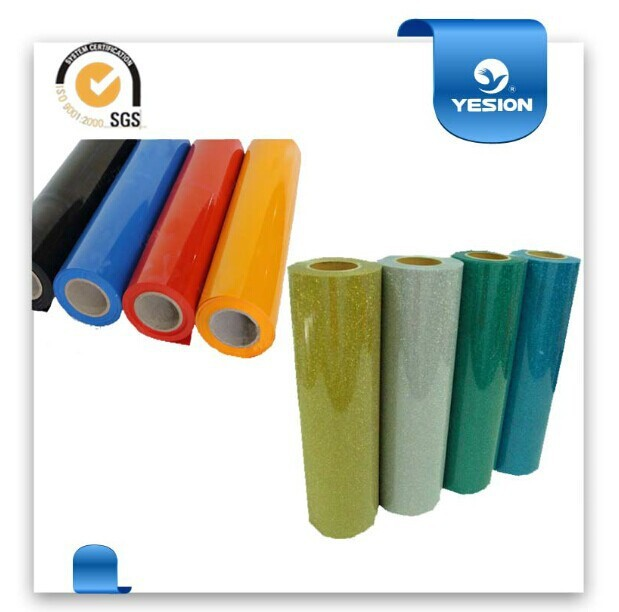 China manufacturer best quality cheap textile fabric transfer film t shirt vinyl roll