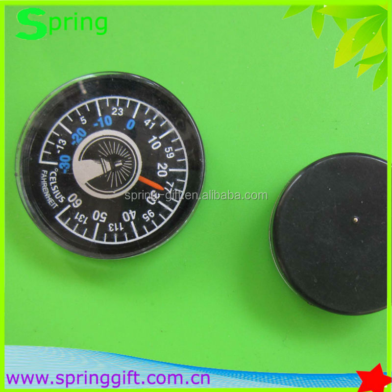 Kunststoff-Mini-Thermometer-Rundthermometer