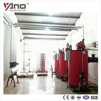 For Cooking Use 300Kg Vertical Diesel Gas Fired Restaurant Water Boiler For Sale