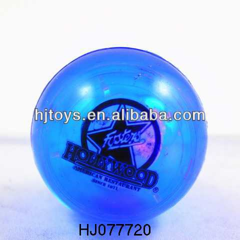 LED flashing colorful super high bounce ball